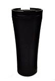 Термокружка из нержавеющей стали Benson BN-063 (380 мл) серая | термочашка Бенсон | термос Бэнсон, фото 4