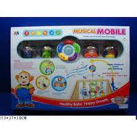 Электронная музыкальная карусель-мобиль 8501-7, фото 1