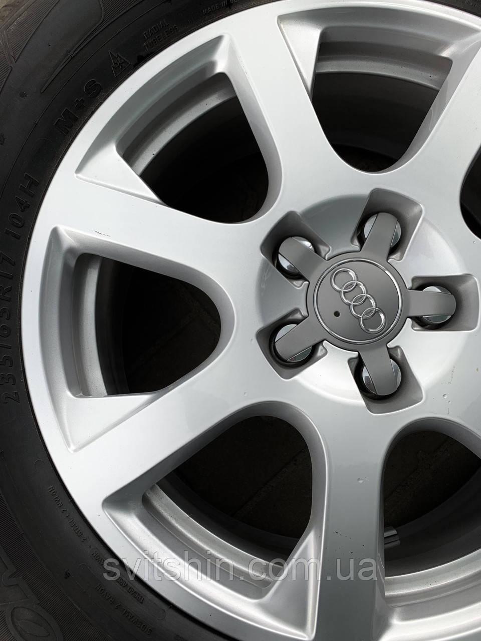 Диски оригінал Audi Q5 R17 5x112 7J ET37+нові шини DUNLOP 3D 235/65R17