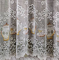 "Готовая штора арка на кухню, столовую, корридор, веранду ""Чайники"", фото 1"