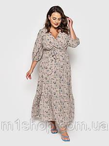 Жіноче легке плаття для літа великих розмірів (Арья lzn)