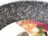 Сковорода Benson BN-529 (22 см) с антипригарным гранитным покрытием   сковородка Бенсон, сотейник Бэнсон, фото 4