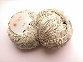 Пряжа Искья Ярна Италия, цвет 2 натуральный