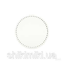 Дно для сумки круглое (16 см), цвет белый