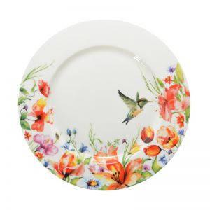 Тарелка десертная colibri 19 см Krauff