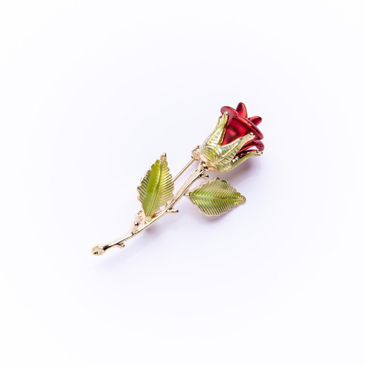 """Брошка """"Троянда"""" 55х25мм"""