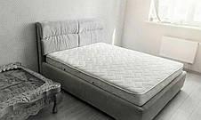 Стильна м'яке ліжко Манчестер з підйомним механізмом Novelty, оббивка на вибір, фото 3