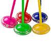 Скакалка с колёсиком на одну ногу, свет, 5 цветов, р-р игрушки – 63см /100/ (SR19002), фото 2