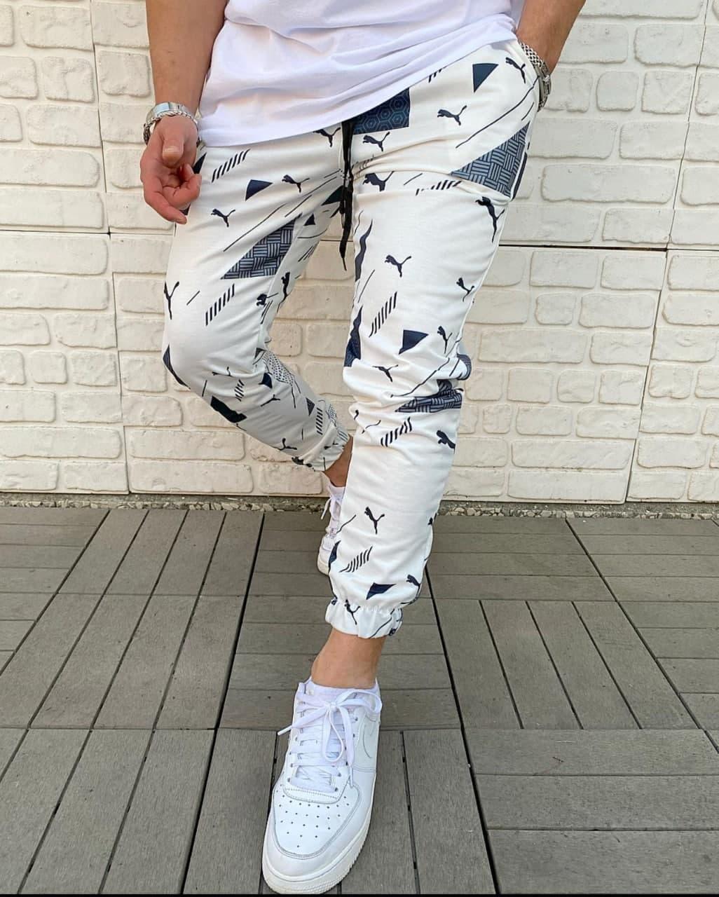 Брендовые спортивные штаны Puma