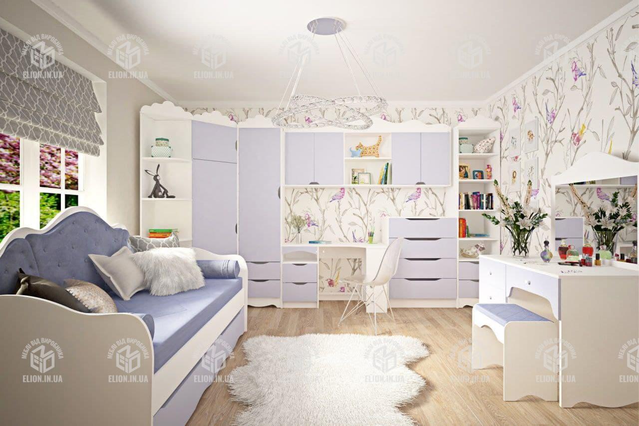 Дитяча модульна кімната для дівчинки Італія