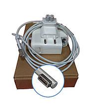 Зарядное устройство для ноутбука Apple L MagSafe 3,65A 16,5V класс A+ (AC-вилка в подарок) нов