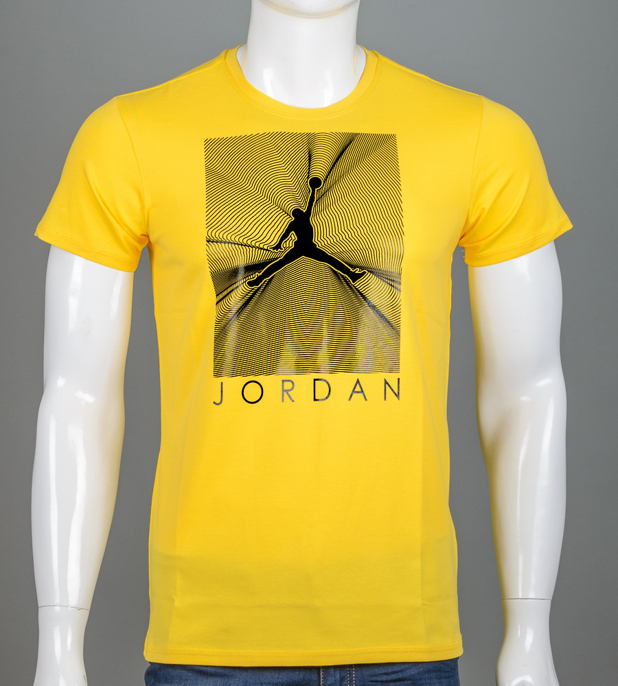 -Р- Футболка мужская Jordan Горчица (2107м), XL