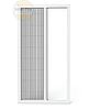 Москітна сітка плісе профіль 28мм, фото 2