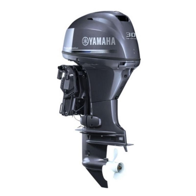 Лодочный мотор Yamaha F30 BETS - подвесной четырехтактный мотор для яхт и рыбацких лодок