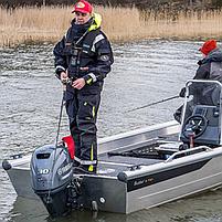 Лодочный мотор Yamaha F30 BETS - подвесной четырехтактный мотор для яхт и рыбацких лодок, фото 3