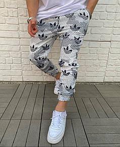 Брендовые спортивные штаны Adidas