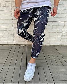 Брендовые спортивные штаны Puma Black