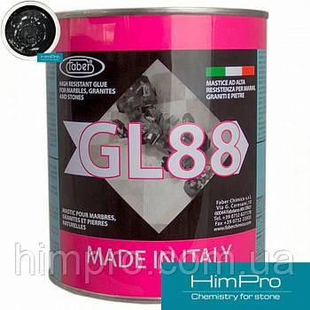 Faber GL88 Black черный полиэфирный двух-компонентный клей 1.7кг