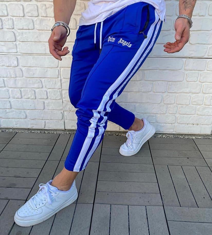 Брендові спортивні штани Palm Angels Blue