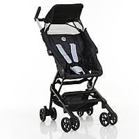 Детская прогулочная коляска с нагрузкой до 15 кг для путешествий El Camino ME 1033 QWERTY Black, черная