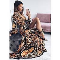Очень красивое платье с имитацией запаха