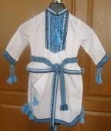Одежда для крещения, в укринском стиле