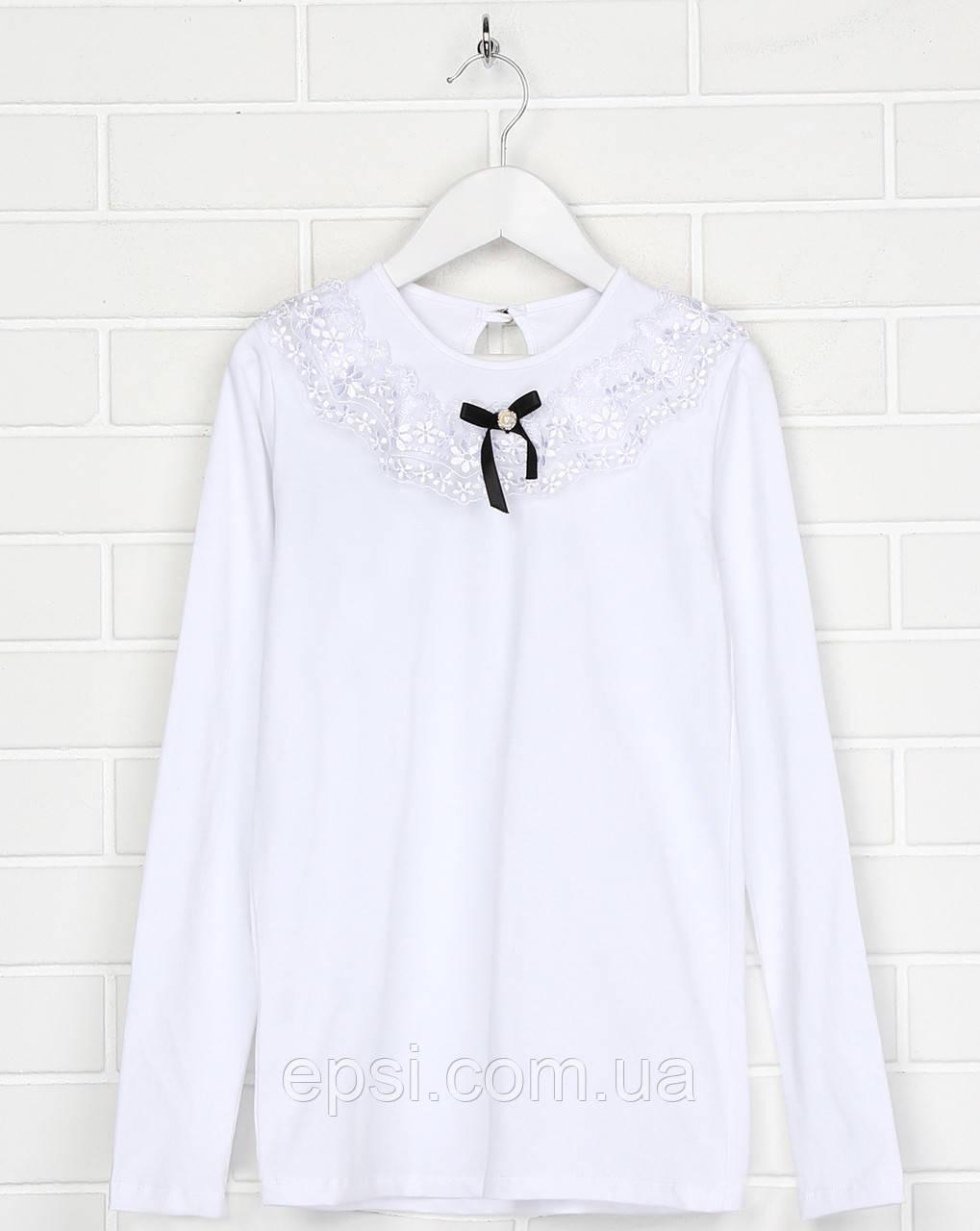 Блуза Malta 19ДД339-24 134 см Біла (2901000227993)