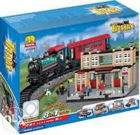Конструктор jubilux железнодорожная станция, вокзал 8в1, j 5706 a