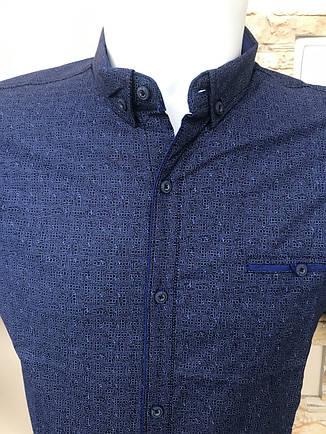 Рубашка короткий рукав G-Port (model*140) с принтом, фото 2