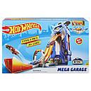 Автотрек Хот Вілс Сіті Мега-гараж Hot Wheels Mega Garage FTB68, фото 9