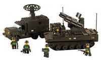 Детский конструктор sluban «зенитно-ракетный комплекс» (m38-b6700)
