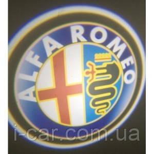 Проекція логотипу автомобіля ALFA ROMEO