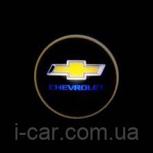 Проекція логотипу автомобіля Chevrolet