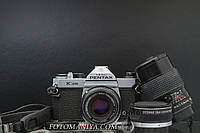 Pentax K1000 kit SMC Pentax-M 50mm f2.0 + JCPenney 135mm f2.8, фото 1