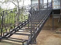 Кованные  ограждений лестниц