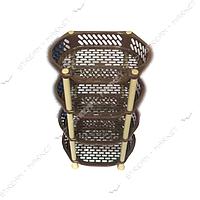 Этажерка многофункциональная 4 яруса коричневая Д024 Украина