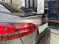 Спойлер багажника ( лип спойлер, шабля, качиний хвостик ) Ford Focus 3 седан 2014+ р. в. рестайлінг Форд Фокус