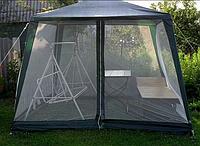 Палатка шатер с сеткой от комаров садовый павильон.3х3 метра