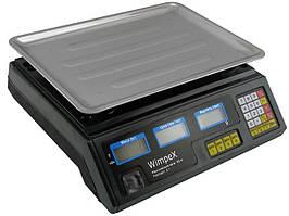 Весы торговые Wimpex WX-50 до 50 кг торговые настольные электронные весы, весы для магазина
