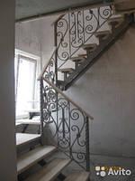 Металлические лестницы в доме