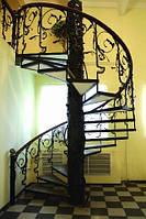 Лестница в частном металлическая