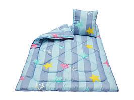 Комплект детский Чарівний сон одеяло 110х140 см + подушка 40х40 см