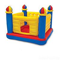 """Дитячий ігровий надувний батут-центр """"Замок"""" 48259 (175*175*135 см)"""