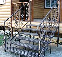 Перила кованые для лестницы