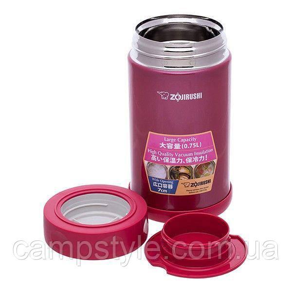 Харчової термоконтейнер ZOJIRUSHI SW-FCE75PJ 0.75 л ц:малиновий