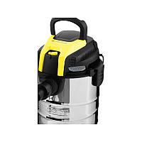 Промышленный пылесос PARKSIDE PNTS 25 A1 влажная и сухая уборка мощность  всасывания 220 Вт, фото 2