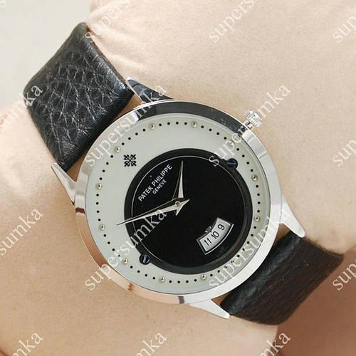Необычные наручные часы Patek Philippe Slim Silver/White-black 1904