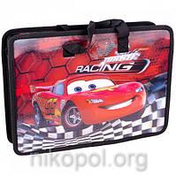 """Портфель-папка дитяча (шкільна) """"Машинка"""" 3D 33*26,5*8,5 см №211077"""
