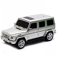 Игрушка машина Автопром модель Мерседес Бенц G55 (Mercedes-Benz) Серебро на радиоуправлении (8807), фото 3