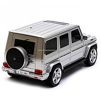 Игрушка машина Автопром модель Мерседес Бенц G55 (Mercedes-Benz) Серебро на радиоуправлении (8807), фото 4